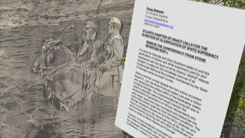 Fact check does the naacp want to sandblast confederate