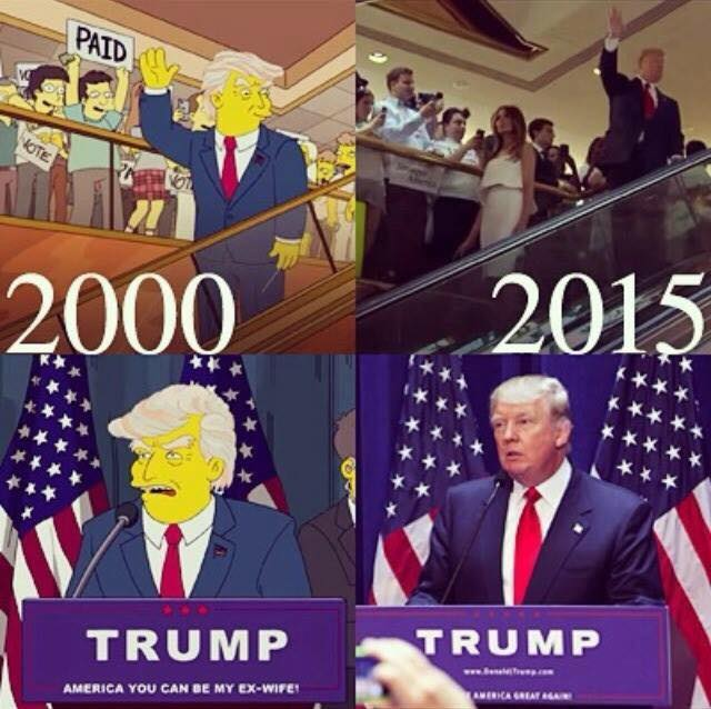Image result for trump simpsons